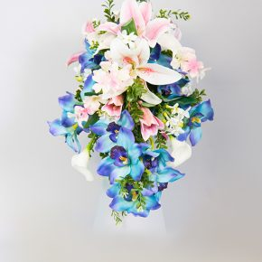 blue-pink-and-white-flower-cascading-bouquet-2