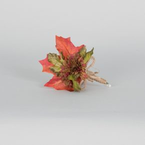 red-flower-with-autumn-leaves-boutonniere-1