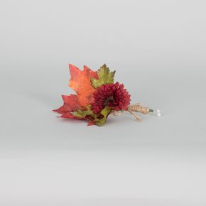 red-flower-with-autumn-leaves-boutonniere-2